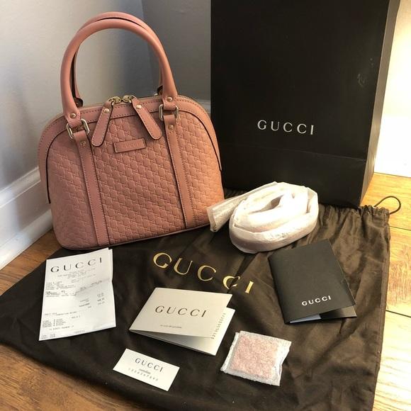 ad1c2a69208b New Gucci Guccissma Mini Dome handbag